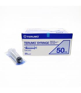 Syringe, 50cc, Luer Lock (Terumo), Per Box
