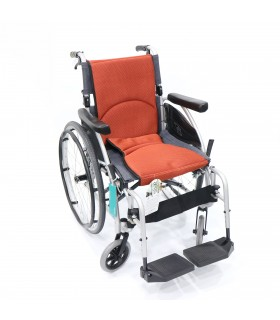 Wheelchair, S Ergo (Karma), 18 inch, Detachable Arm & Footrest