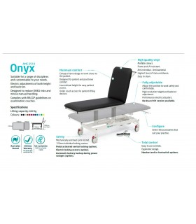 Onyx (Forme Medical), Examination Couch