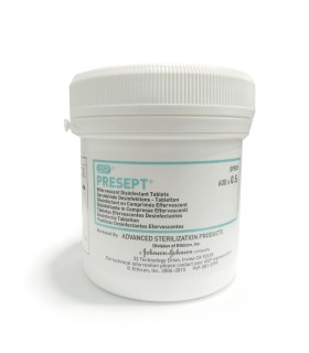 *Out Of Stock* Presept Disinfectant Tablets 0.5g SPB05, 600 Tablets/Tub