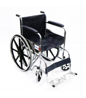Wheelchair (Assure Rehab), Standard, Chrome, AR0100, Per Unit