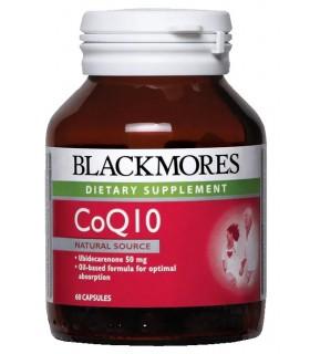 Blackmores CoQ10 50mg 60's/Bot