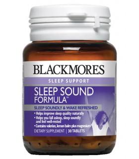 Blackmores Sleep Sound Formula 30's/Bot