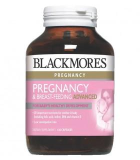 Blackmores Pregnancy & Breast-Feeding Advanced 120's/Bot