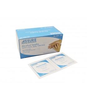 Out Of Stock - Alcohol Swab (Assure), Sterile, 3cm x 3cm, 100 Pcs/Box