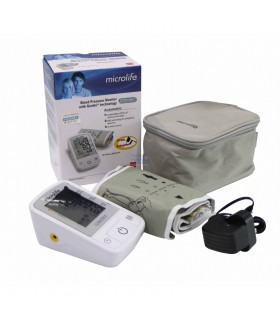 MIRCOLIFE A2 Basic Upper Arm Blood Pressure Monitor With Adapter  Microlife  , 1 Set