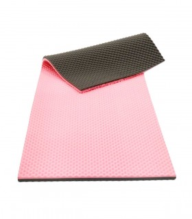 Mattress (SAFE) Pink/Grey 200 x 80 x 4 cm, AR0510, Per Piece