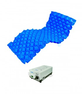 "Air Mattress (YH Med), 2.8"" Bubble Pad Mattress with Pump, Per Unit"