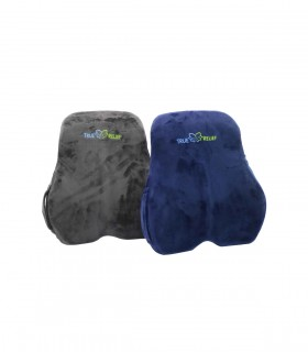True Relief Memory Foam Back & Lumbar Support Cushion, Per Piece