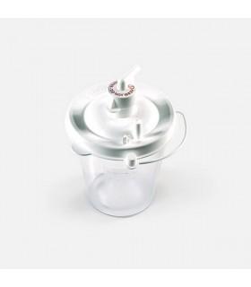 Collection Bottle, Disposable (DeVilbiss), 800ml, for Vacu Aide Suction Pump, DVB7305D-632, Per Unit
