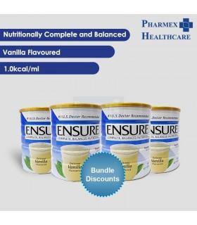 ABBOTT Ensure Powder, Vanilla 850g, 4 Tins @ $25/Tin