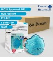 3M N95 Health Care Particulate Respirator and Surgical Mask, 1860S, 20 Pcs/Box, 6 Boxes/Carton