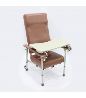 Geriatric Chair (ASSURE Rehab), Adjustable Height with Rear Wheels, AR0554