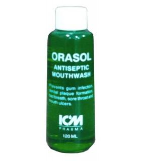 Mouth Wash (Orasol), 120ml, Per Bottle