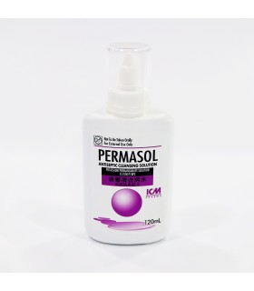 Antiseptic Cleansing Solution, Permasol, 120ml, Per Bottle