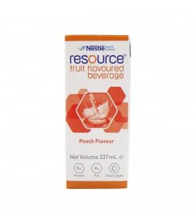 Resource Fruit Beverage (Nestle), Peach 237ml, Per Packet