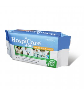 Adult Body Wipes (Hospicare 40R), 40 Pcs/Pkt