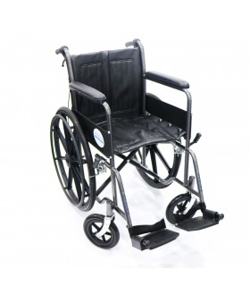 "Wheelchair (Assure Rehab), 18"" Heavy Duty, Hammertone, AR0101, Per Unit"