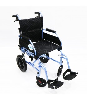 "Transport Push Chair (ASSURE Rehab), Super Lightweight 12"" Rear Wheel/Assisted Brakes, AR0195, Per Unit"