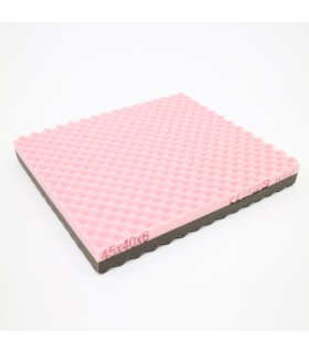 Cushion, Pink/Grey (SAFE), 45cmX40cm X6cm, AR0520, Per Piece