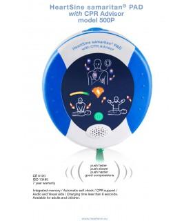 Automated External Defibrillator (Heartsine, Samaritan PAD), AED-500P, Per Unit
