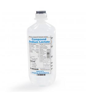 Hartmann's Solution (B Braun), Compound Sodium Lactate, 500ml, 10 btl/pck