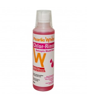Mouth Wash, Antiseptic (Pearlie White Chlor-Rinse), 250ml, Per Bottle