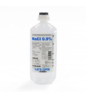 Sodium Chloride Intravenous Infusion (B Braun), B. P. 0.9%, 500ml Bottle, 10 Btl/Ctn