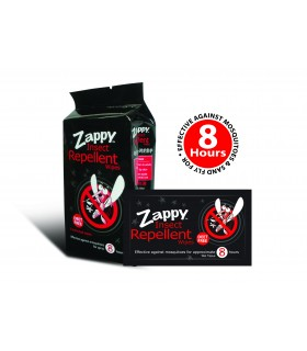 Out Of Stock - Insect Repellent Wipes (Zappy), 8s Per Pk, 20 Pks/Ctn
