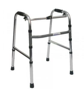 Walking Frame, Junior (ASSURE Rehab), Foldable with Adjustable Height, 27-Inch to 34-Inch, AR0309, Per Unit