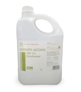 Isopropyl Alcohol 70% V/V, 4 Litres, Per Bottle